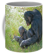 Bonobo Mother And Baby Coffee Mug
