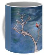 Bonsai Cardinal Coffee Mug