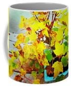 Bonsai Tree With Yellow Leaves Coffee Mug