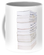 Books Isolated Coffee Mug