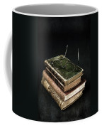 Books With Glasses Coffee Mug