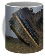 Bookshelf Picking Coffee Mug