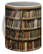 Bookshelves Coffee Mug