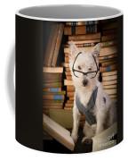 Bookworm Dog Coffee Mug