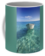 Bora Bora White Boat Coffee Mug