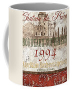 Bordeaux Blanc Label 2 Coffee Mug by Debbie DeWitt