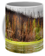 Boreal Forest At Yukon River Destroyed By Fire Coffee Mug