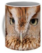 Boreal Owl Eyes  Coffee Mug