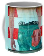 Born In The Usa Urban Garage Door Mural Coffee Mug
