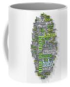 Born To Run Coffee Mug by Scott Norris
