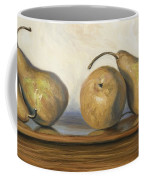 Bosc Pears Coffee Mug by Lucie Bilodeau