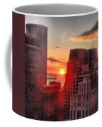 Boston At Dawn Coffee Mug