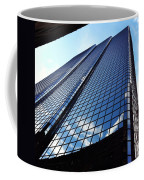 Boston Blue Glass Coffee Mug