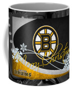 Boston Bruins Christmas Coffee Mug