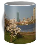 Boston Charles River On A Spring Day Coffee Mug