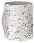 Boston-concord Map, 1775 Coffee Mug