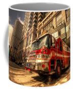 Boston Fire Truck  Coffee Mug