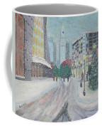 Boston First Snow Coffee Mug