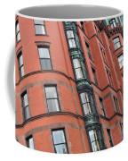 Boston Ma Building Facade Coffee Mug