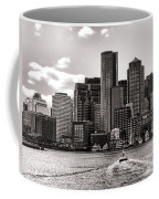 Boston Coffee Mug by Olivier Le Queinec
