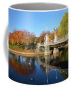 Boston Public Garden Autumn Coffee Mug