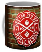 Boston Red Sox 1915 World Champions Coffee Mug by Stephen Stookey