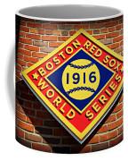 Boston Red Sox 1916 World Champions Coffee Mug