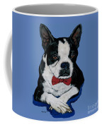 Boston Terrier With A Bowtie Coffee Mug