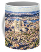 Boston Usa Elevated View Coffee Mug