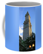 Boston Waterfront District 3527 Coffee Mug