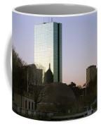Bostons John Hancock Tower Massachusetts Coffee Mug