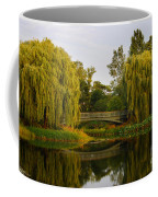 Botanic Garden Bridge At Dusk Coffee Mug