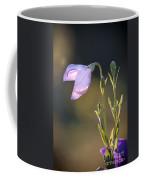 Botanical Purple Iris Coffee Mug