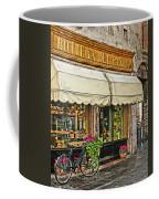 Bottega Del Pane Italian Bakery And Bicycle Coffee Mug