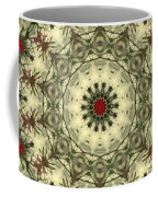 Bottle Brush Kaleidoscope Coffee Mug