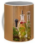 Bottles Of Olive Oil Coffee Mug