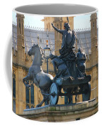 Boudicca Statue And Parliament 5805 Coffee Mug