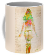 Boudoir Sonata Coffee Mug by Nikki Smith
