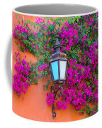 Bougainvillea And Lamp, Mexico Coffee Mug