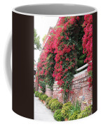 Bougainvillea Wall In San Francisco Coffee Mug