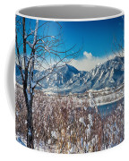 Boulder Colorado Winter Season Scenic View Coffee Mug