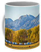 Boulder County Colorado Flatirons Autumn View Coffee Mug