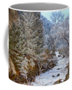 Boulder Creek Winter Wonderland Coffee Mug