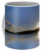 Boulder Lake At Sunrise Coffee Mug