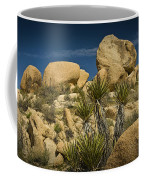 Boulders In The Joshua Tree National Park Coffee Mug