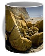 Boulders On The Beach At Torrey Pines State Beach Coffee Mug