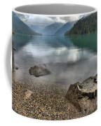 Boulders On The Edge Of Cheakamus Lake Coffee Mug