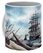 Bound For Blue Water Coffee Mug