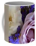 Roses And Violets  Coffee Mug