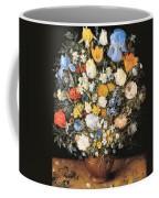 Bouquet In A Clay Vase Coffee Mug